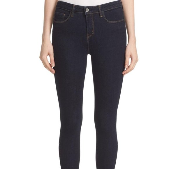 L'Agence Andrea High Rise Skinny Jeans NWT